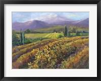 Framed Vineyard Tapestry I