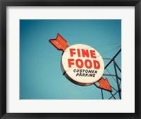 Framed Vintage Diner III