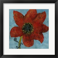 Summer Bloom I Framed Print