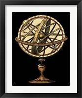 Framed Sphere of the World I