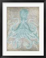 Spa Octopus I Framed Print