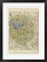 Framed Floral Pattern Study III