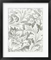Framed Floral Pattern Sketch II