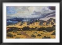 Framed Desert Mountain Light