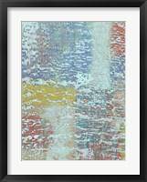 Bold Textures I Framed Print