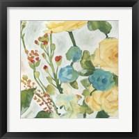 June Bouquet II Framed Print
