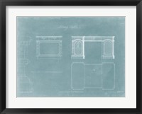 Library Tables Framed Print