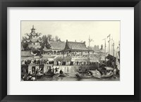 Scenes in China VII Framed Print