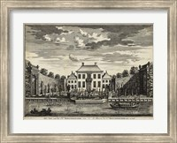 Framed Views of Amsterdam V
