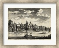 Framed Views of Amsterdam VI