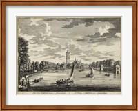 Framed Views of Amsterdam VII