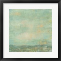 Framed Mint Sky I