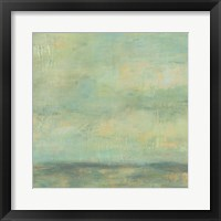 Framed Mint Sky II