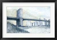 City Bridge I Framed Print