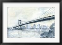 City Bridge II Framed Print