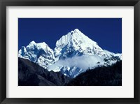 Framed Asia, Nepal. Himalayan Mountains