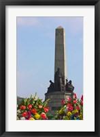 Framed Rizal Monument, Manila, Philippines
