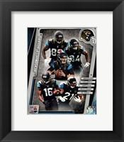 Framed Jacksonville Jaguars 2014 Team Composite