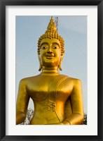 Framed Wat Phra Yai, Buddha of Chonburi, Pattaya, Thailand