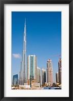 Framed Burj Khalifa, Dubai, United Arab Emirates
