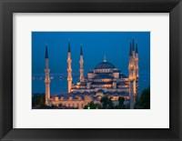 Framed Blue Mosque, Istanbul, Turkey