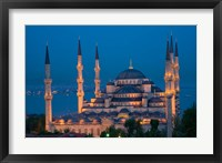 Framed Blue Mosque, Istanbul, Turkey
