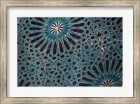 Framed Ceiling Tile, Mevlana Museum, Konya, Turkey