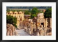 Framed Street of Curetes, Celsus Library, Ephesus, Turkey