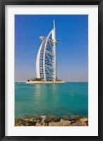 Framed Burj Al Arab Hotel, Dubai, United Arab Emirates