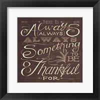 Framed Thankful
