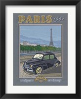 Framed Paris 1961, 4CV
