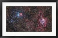 Framed Stars of the Sagittarius Constellation