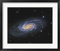 Framed NGC 2903, A Barred Spiral Galaxy in the Constellation of Leo