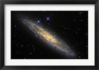 Framed Sculptor Galaxy