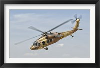 Framed Sikorsky UH-60 Black Hawk Yanshuf of the Israeli Air Force