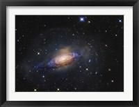 Framed Spiral Galaxy in the Constellation Leo