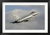 Framed Eurofighter 2000 Typhoon of the Italian Air Force