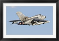 Framed Italian Air Force Panavia Tornado ECR