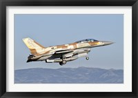 Framed Israeli Air Force F-16I Sufa