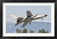 Framed Italian Air Force Panavia Tornado