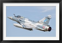 Framed Dassault Mirage 2000C of the French Air Force