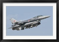 Framed Turkish-built F-16, Izmir Air Show in Turkey