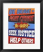 Framed Be Brave!