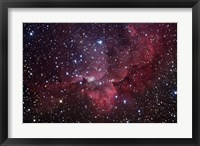 Framed Emission Nebula in the Constellation Cepheus (NGC 7380)