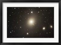 Framed Elliptical Galaxy Messier 87
