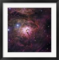 Framed Hourglass Nebula