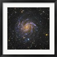 Framed Fireworks Galaxy