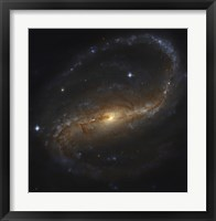 Framed Barred Spiral Galaxy in the Constellation Pegasus