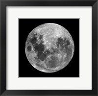 Framed Full Moon