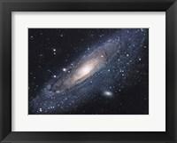 Framed Andromeda Galaxy (close up)